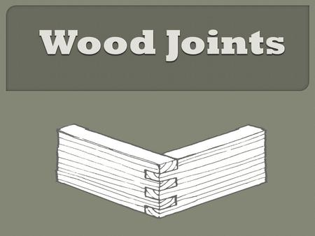  Joinery is a part of woodworking that involves joining together pieces of wood, to create furniture, structures, toys, and other items. Some wood joints.
