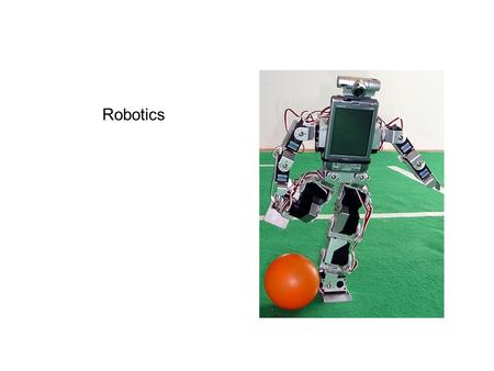 "Robotics. ""A robot is a reprogrammable, multifunctional manipulator designed to move material, parts, tools, or specialized devices through variable programmed."
