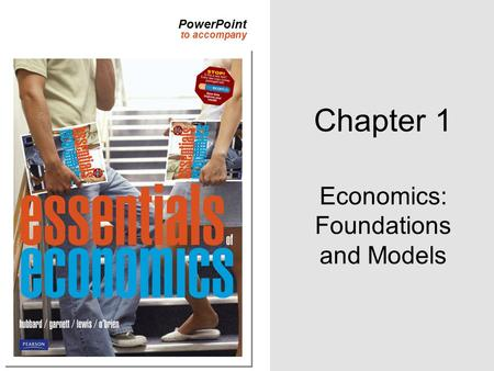Economics: Foundations and Models