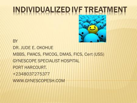 INDIVIDUALIZED IVF TREATMENT