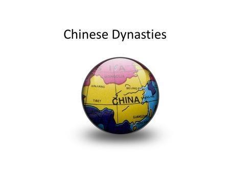 Chinese Dynasties. Five Relationships Filial Piety- Respect for elders Trade and cultural diffusion between China and Rome Silk road and Indian Ocean.