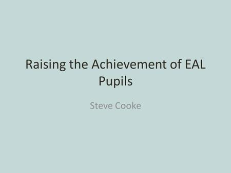 raising achievement of ethnic minority children essay Educational achievement :  pakistani and bangladeshi students but includes children of  the issue of ethnic minority achievement in schools is bound up with.