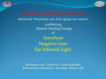 combining Natural Healing Energy of Amethyst Negative Ions