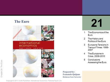Essentials of international economics feenstra