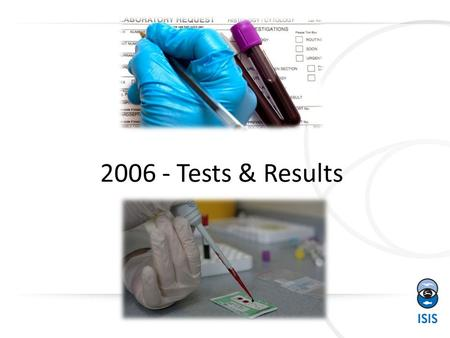 2006 - Tests & Results In ZIMS. Request Test From Record There are two ways to request tests on your samples. The first is from within the animal medical.