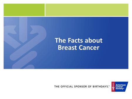 The Facts about Breast Cancer