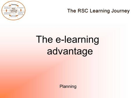 The e-learning advantage