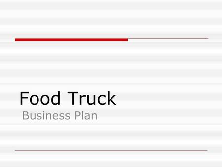 Food Truck Face-Off. - Ppt Download