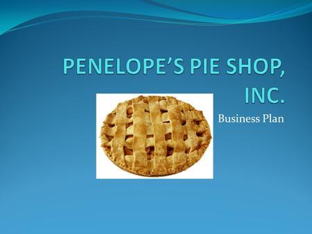 Buko pie business plan