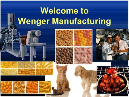 Welcome to Wenger Manufacturing