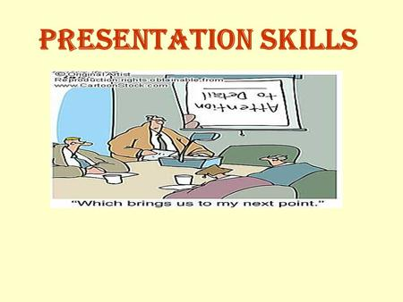 Presentation skills. Giving Effective Presentations Presentations should influence people. Presentations should be prepared very well. Effective presentations.