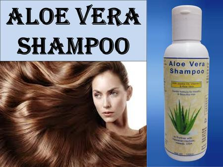 Aloe Vera Shampoo. Gives smooth & silky hair Gentle formula for healthy & beautiful hair Introduced in India by Kai Natural Care, in partner with Hawaiian.
