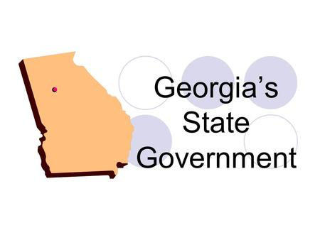 Georgia's State Government. Georgia's Constitution A new constitution ratified by the people of Georgia in 1982 became effective July 1, 1983. Georgia.