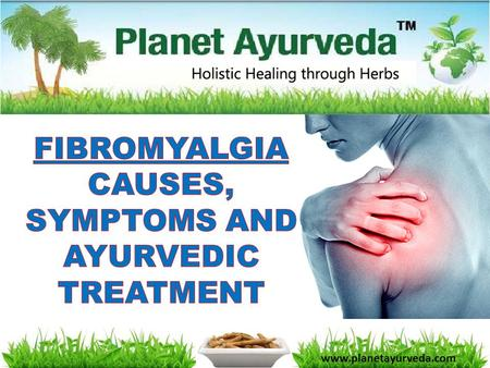 Www.planetayurveda.com.  Fibromyalgia is the most common musculoskeletal condition after osteoarthritis.  Its characteristics include widespread muscle.