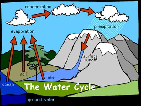 The Water Cycle. Audience: 2 nd Grade Environment: Classroom Objective: Given the PowerPoint, students must be able answer basic questions about the four.