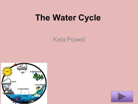 The Water Cycle Kela Powell. Content Level: Science Grade: 4 Summary: The purpose of this instructional PowerPoint is to have you the student understand.