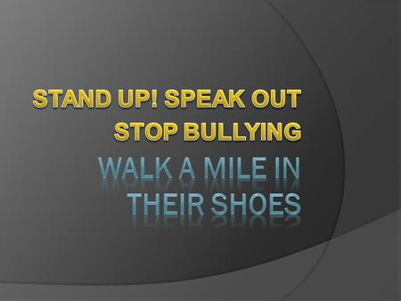  Bullying is any repeated, systematic pattern of gestures, written or electronic, verbal communication, or ANY physical act, threatening communication.