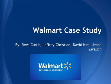 Case Study: Ethical Issues Facing Wal-Mart