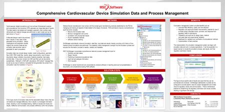 C c c Comprehensive Cardiovascular Device Simulation Data and Process Management INTRODUCTION CONTACTS Cardiovascular related simulations such as nonlinear.