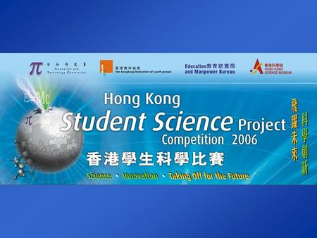 The Road to a Good Science Project Dr. Michael H. W. Lam Department of Biology & Chemistry City University of Hong Kong Hong Kong Student Science Project.