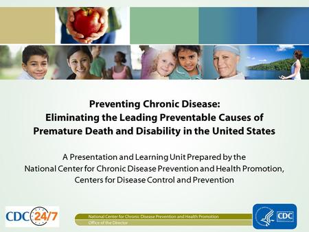 Preventing Chronic Disease: