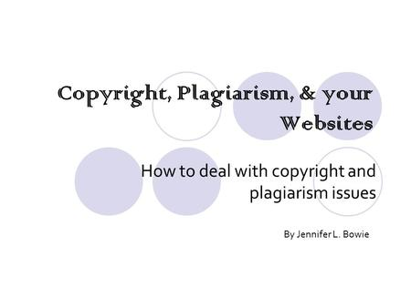 an introduction to the issue of plagiarism Level 1: introduction/exposure (introduction to sociology, psychology, or  criminal justice) topic: how to identify and avoid plagiarism learning  outcomes: by.