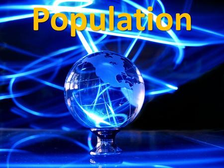 Population. Population Distribution Population distribution explains where people live. Why do some people prefer to live in region A compared to region.