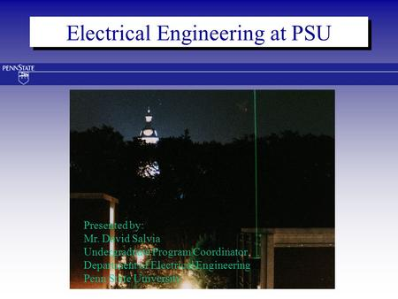 Electrical Engineering at PSU
