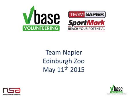 Team Napier Edinburgh Zoo May 11 th 2015. Engage… students in unique ways to support them in becoming better global citizens and skilled graduates Empower…