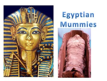 The Death Rituals practised by the Ancient Egyptians included embalming and mummification (which are detailed on other pages). After 70 days, following.