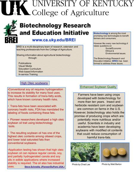 Www.ca.uky.edu/BREI BREI is a multi-disciplinary team of research, extension and teaching professionals from the College of Agriculture. Sharing information.