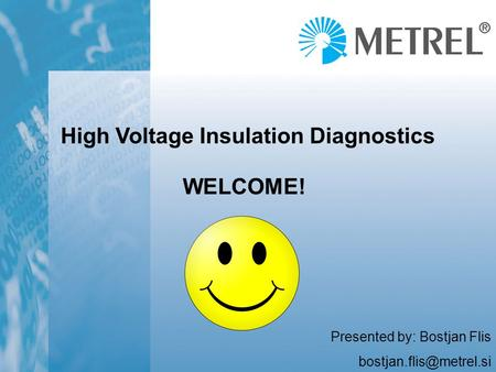 High Voltage Insulation Diagnostics