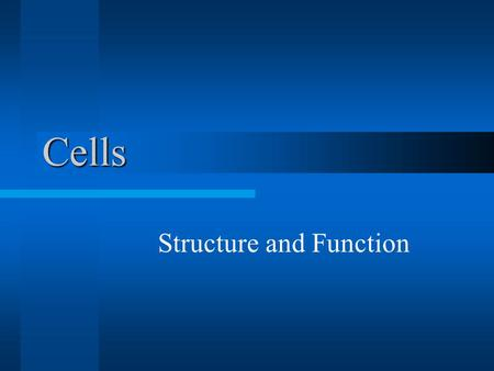 a brief introduction to the cell structure and function With the help of a microscope, an english scientist, robert hooke, first discovered the existence of cells in 1665scanning electron microscopes are used to .