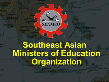 Southeast Asian Ministers of Education Organization.
