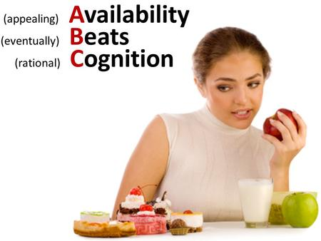 (appealing) Availability (eventually) Beats (rational) Cognition.