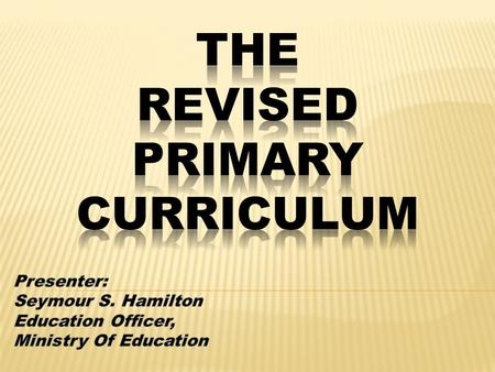 For participants to:  understand the structure of the Revised Primary Curriculum (RPC)  Be able to break down a unit into teachable chunks.