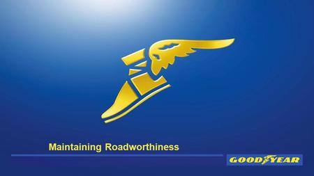 Maintaining Roadworthiness. Overview o Tyres within the DVSA Guide to Maintaining Vehicle Roadworthiness o Service Station Tyre Checks (understanding.
