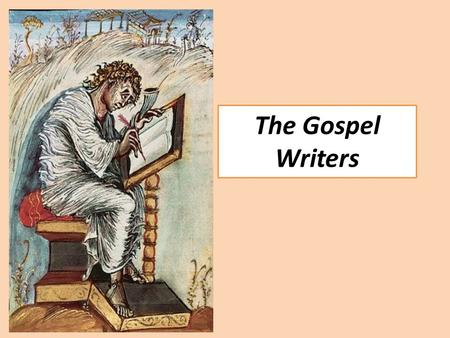 The Gospel Writers. The Gospels (Matthew, Mark, Luke and John) are the first four books of the New Testament. All of them tell the story of Jesus' life,