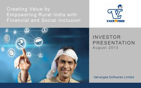 Empowering Rural <strong>India</strong> with Financial and Social Inclusion