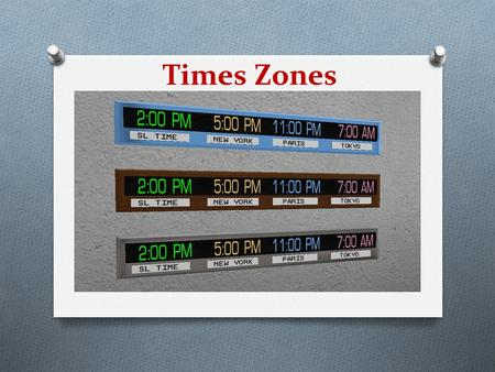 Times Zones. The History of Time Zones O Before the advent of railways in the 1800s, all time was local. Noon was simply when the sun was directly overhead.