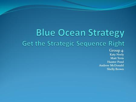 blue ocean strategy chan kim pdf