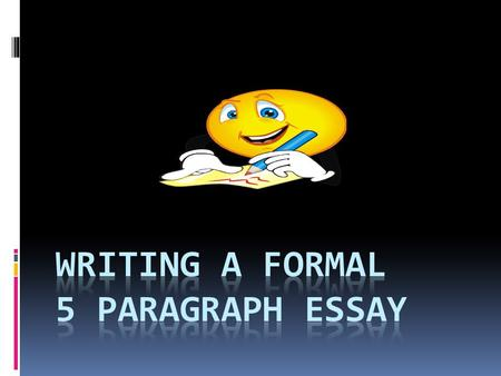 PARAGRAPH #1-INTRODUCTION (3-5 sentences)  Grab your reader's attention  State facts and/or interesting points relevant to your topic  Provide a thesis.