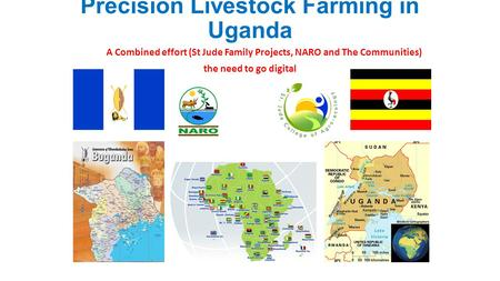 Precision Livestock Farming in Uganda A Combined effort (St Jude Family Projects, NARO and The Communities) the need to go digital.