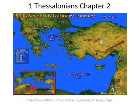1 Thessalonians Chapter 2