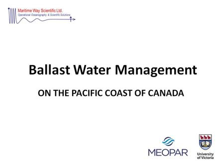 What is Ballast Water Ballast water is taken aboard ships as cargo or consumables are removed to ensure the vessel's stability, manoeuvrability, and trim,