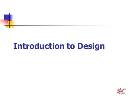 Introduction to Design. The design process is an engineering activity that turns a concept into reality. The concept is a solution to a specific problem.