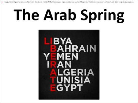 Arab Spring's Influence Continues to be Felt As Scholars Recognize its Global Impact