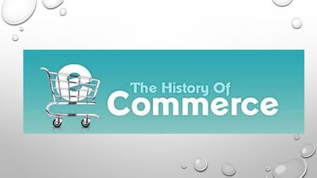 1960 BASICALLY THIS IS THE YEAR WHERE ECOMMERCE STARTED, BACK THEN IT WAS CALLED THE ELECTRONIC DATA INTERCHANGE. IT ALLOWED COMPANIES TO CARRY OUT ELECTRONIC.