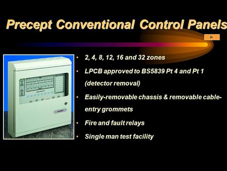 Precept Conventional Control Panels