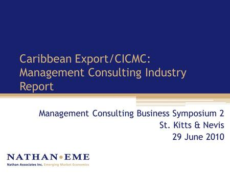 Caribbean Business Report